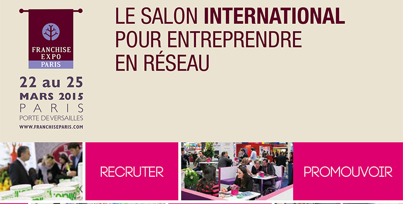 Le bistro r gent sera pr sent au salon de la franchise du for Le salon de la franchise