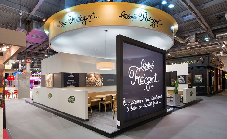 Les photos du bistro r gent au salon de la franchise for Salon de la photo paris
