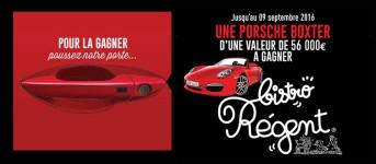2016 - Tentez de gagner une Porsche Boxster d'une valeur de 56 000 euros