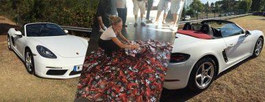 2016 – Le tirage au sort du jeu Porsche