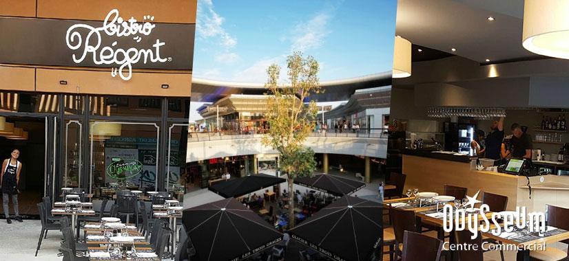 Le bistro r gent s 39 installe au centre commercial odysseum for Centre commercial grand tour sainte eulalie