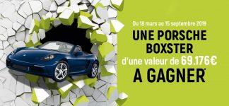 Tentez de gagner une Porsche Boxster d'une valeur de 69 000€